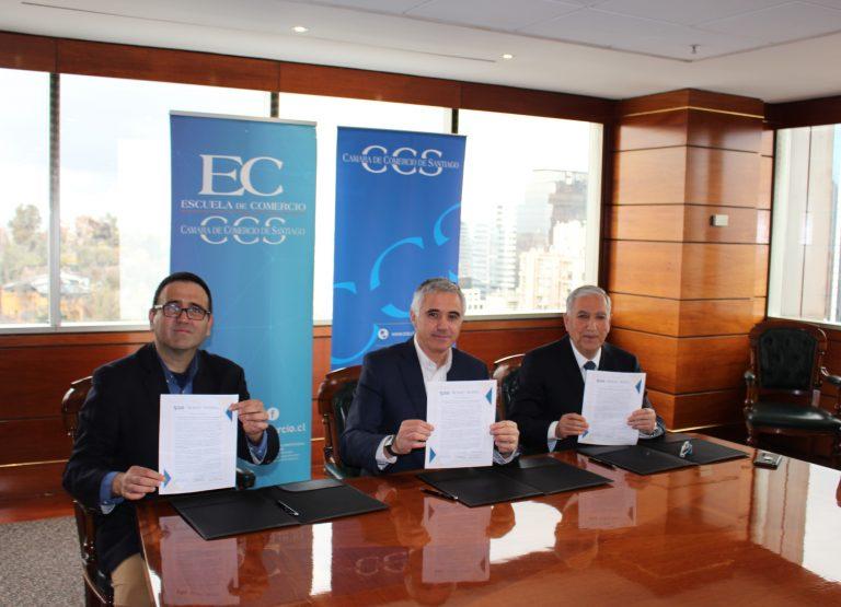 Convenio de cooperación entre SAS, Cámara de Comercio y la Escuela de Comercio