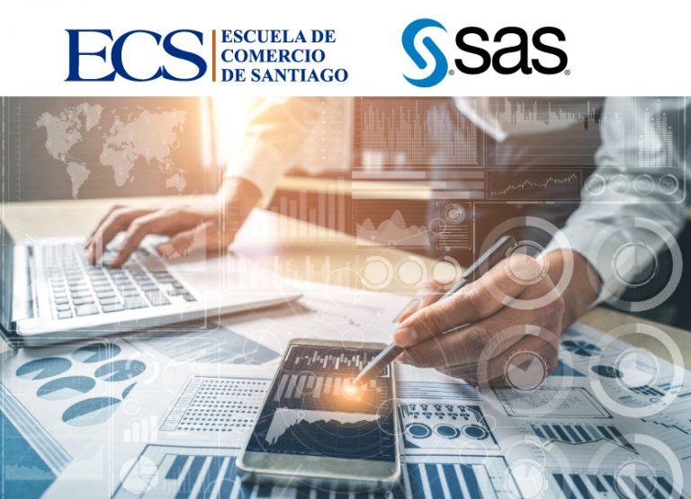 Compromiso de cooperación entre SAS y la Escuela de Comercio de Santiago