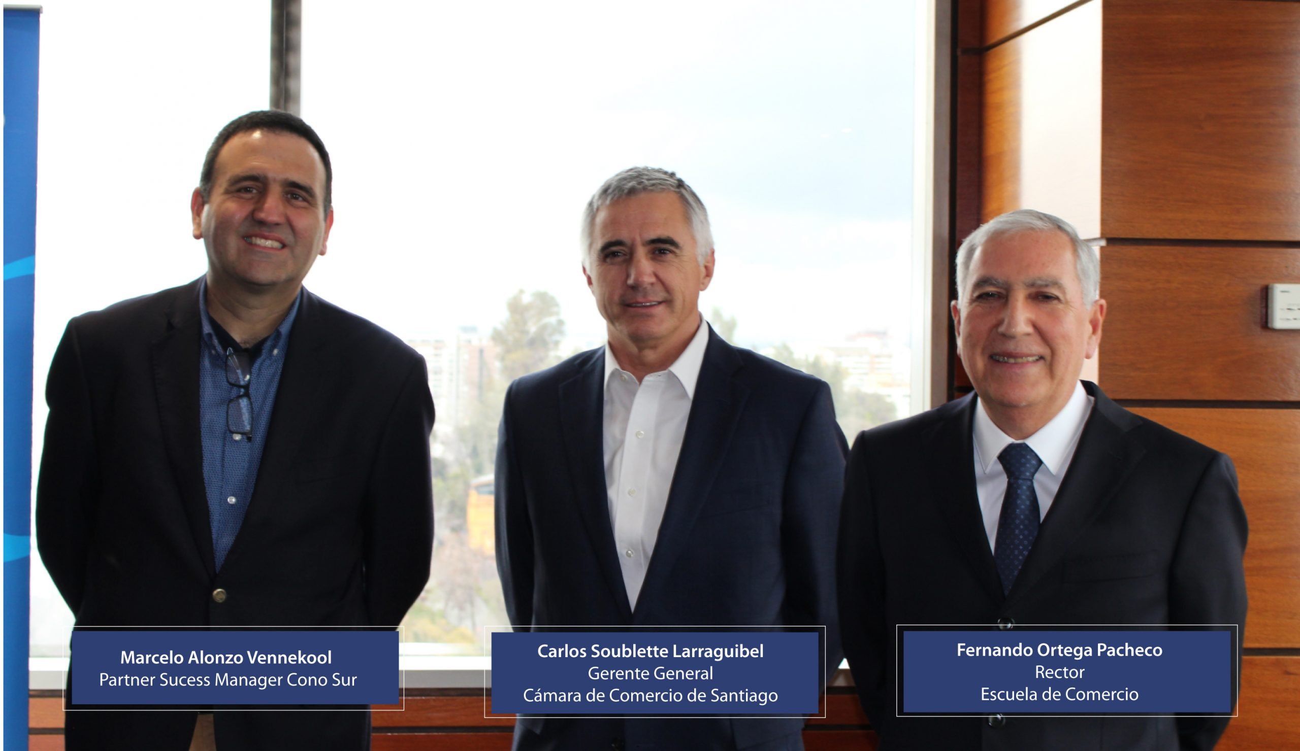 Escuela de Comercio - Convenio de cooperación entre SAS, Cámara de Comercio y la Escuela de Comercio
