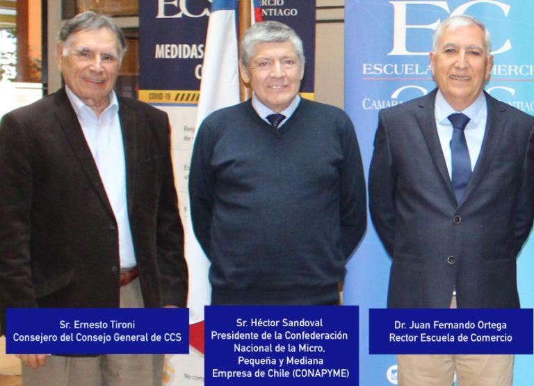 Escuela de Comercio y Conapyme sellan acuerdo de cooperación
