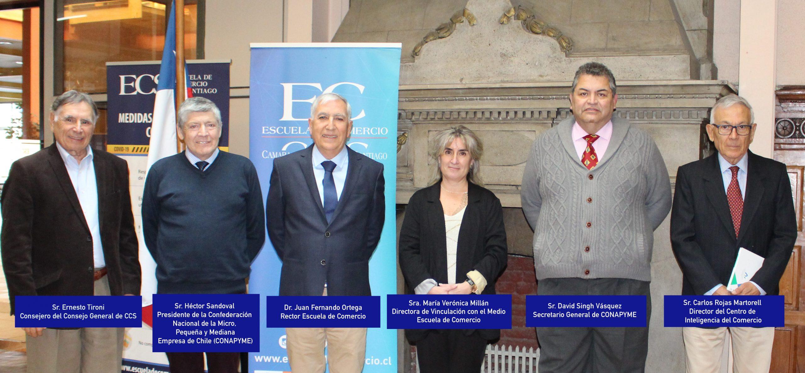 Escuela de Comercio - Escuela de Comercio y Conapyme sellan acuerdo de cooperación