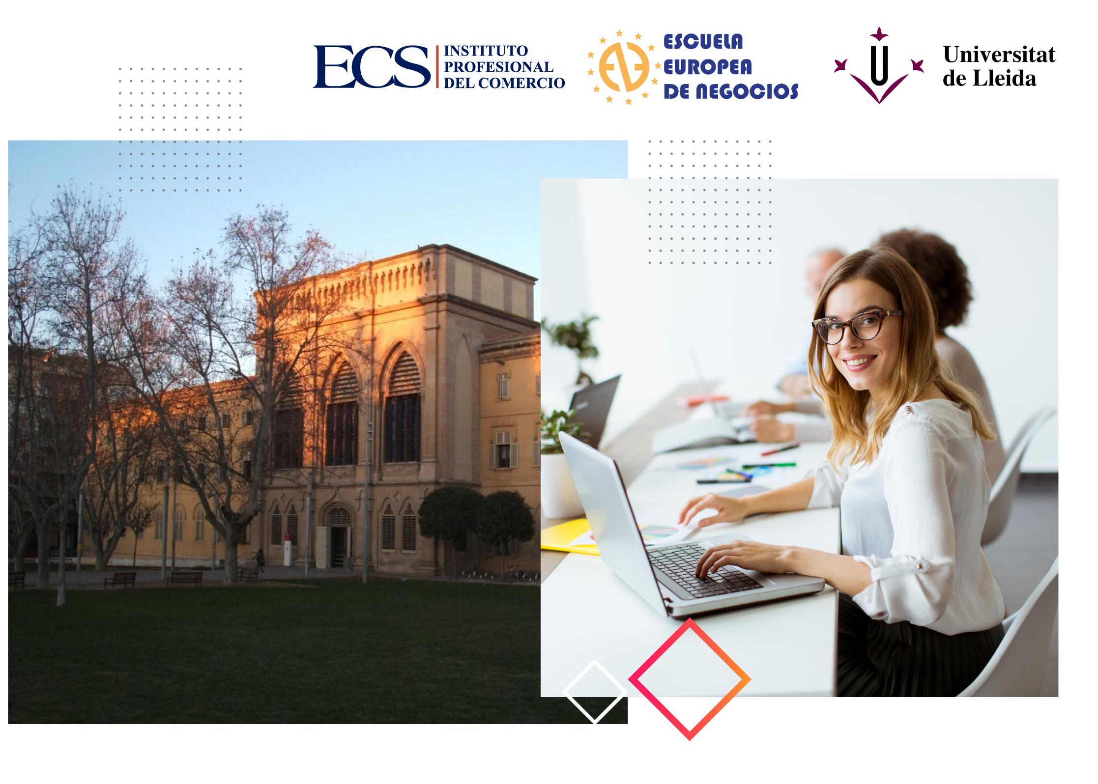 Escuela de Comercio - Landing Escuela Europea de Negocios - IP